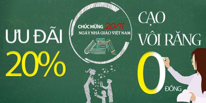 Khuyễn Mãi Tưng Bừng Mừng Ngày Nhà Giáo Việt Nam